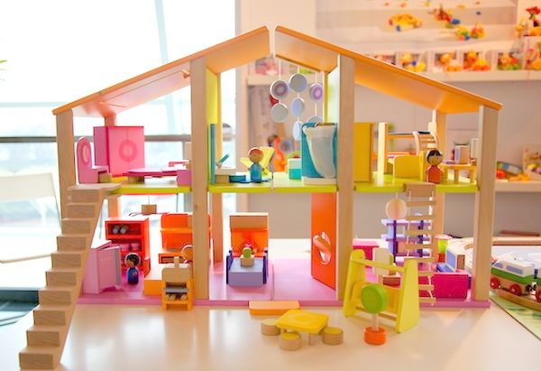 Sevi Large Doll House With Furniture Comes With 7 Rooms Of Furniture